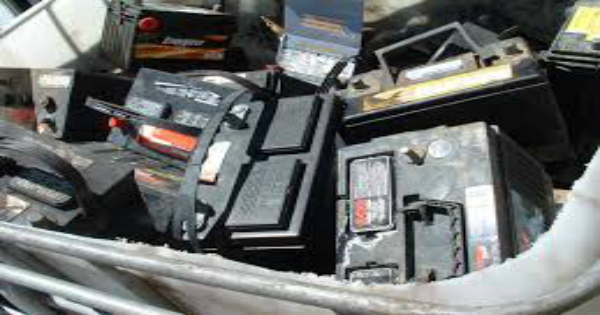 selling scrap batteries