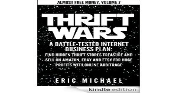 Thrift shop flipping by the author of almost free money thrift wars cover fandeluxe Choice Image