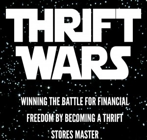 Thrift Wars Available on Amazon Kindle