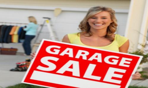 garage sale mom